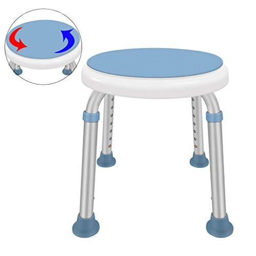 TZSMYD Rotierende Runde Badewanne/Dusche Hocker mit Drehsitz beweglichen Badewannenlifter Stuhl Aid Einstellbare Überweisung for Senioren Behinderung Hilfe M5Y0D9