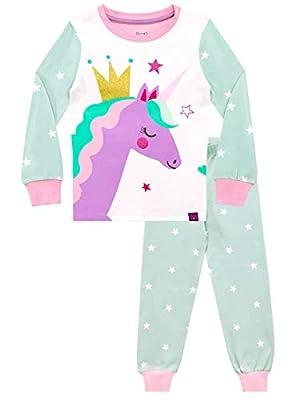 Harry Bear Pijamas para niñas Unicornio Ajuste Ceñido Multicolor 6-7 Años