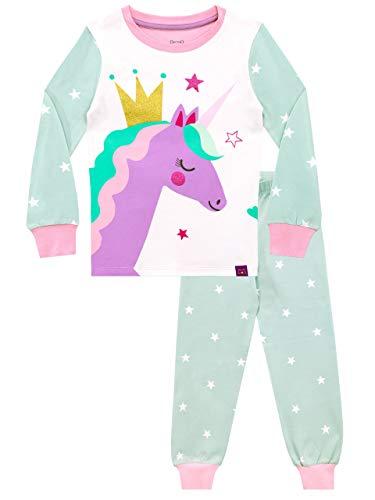 Harry Bear Pijamas para niñas Unicornio Ajuste Ceñido Multicolor 3-4 Años