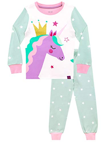 Harry Bear Pijamas para niñas Unicornio Ajuste Ceñido Multicolor 18-24 Meses