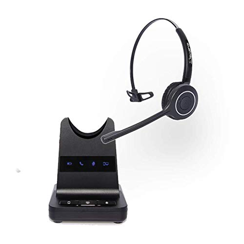 Element Monaural Wireless Headset for PC | Desk Phone | Mobile | Compatible With Acer Nitro