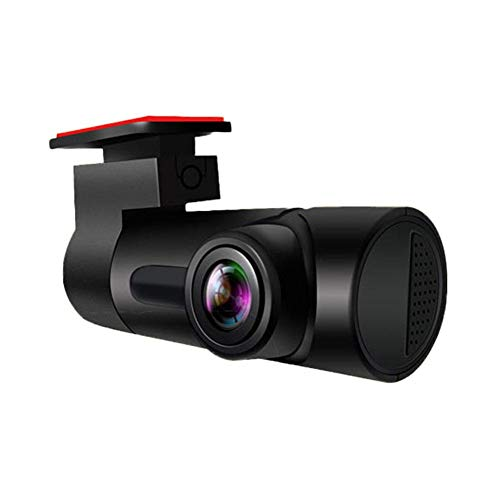 Mississ Car Dash CAM, 1080P Full HD DVR Grabadora de conducción de automóviles, Dash Camera con 130 ° de Gran Angular, para Monitor de estacionamiento con detección de Movimiento