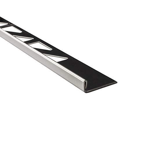 5x L-Profil Edelstahlschiene Fliesenschiene Fliesenprofil L250cm 6mm glänzend