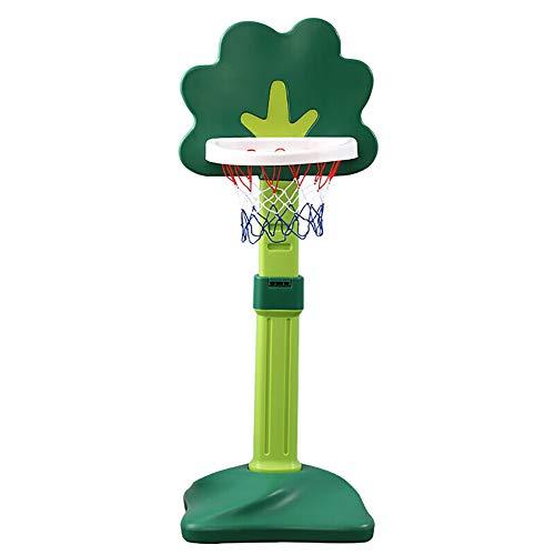 De aro de Baloncesto elevable para niños, Juguete de Baloncesto de Interior para niños pequeños | Aro de Baloncesto Little Tikes para Regalo de cumpleaños de niña niño