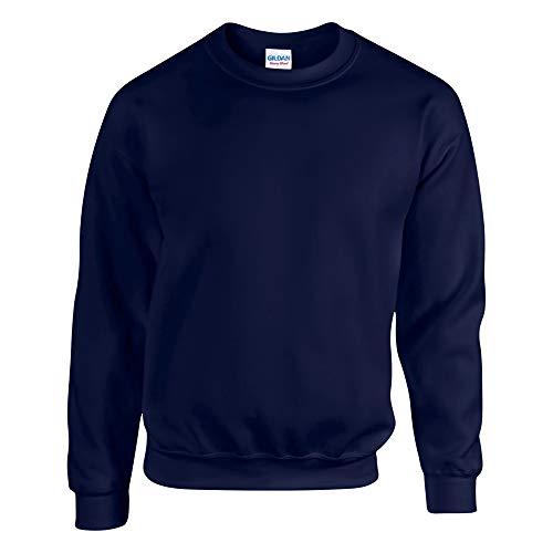 Gildan Herren Sweatshirt, Blau (Marineblau), L
