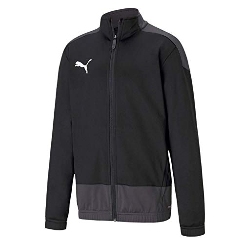 Puma Kinder teamGOAL 23 Training Jacket Jr Trainingsjacke, Black-Asphalt, 152