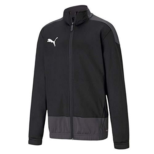 Puma Kinder teamGOAL 23 Training Jacket Jr Trainingsjacke, Black-Asphalt, 164