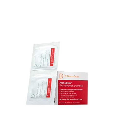 Dr Dennis Gross Skincare Alpha Beta Peel, Extra Strength - Pack of 5,