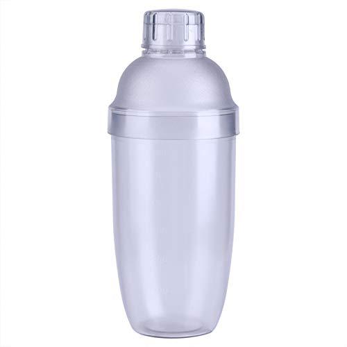 Shaker Bottle - Anti-Leakage Transparent PC Resin Milk Tea Cocktail Drink Shaker Bar Tool 700cc
