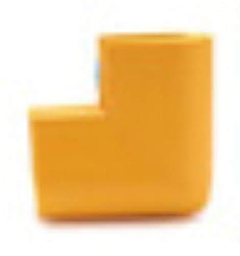 Piero 4-delige U-vormige hoekbeschermer Babyveiligheid Glazen salontafel Hoekbotsing Beschermende kinderen, goud