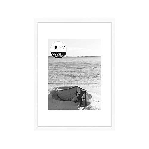 Nielsen design fotolijst, hout, 21 x 29,7 cm, wit