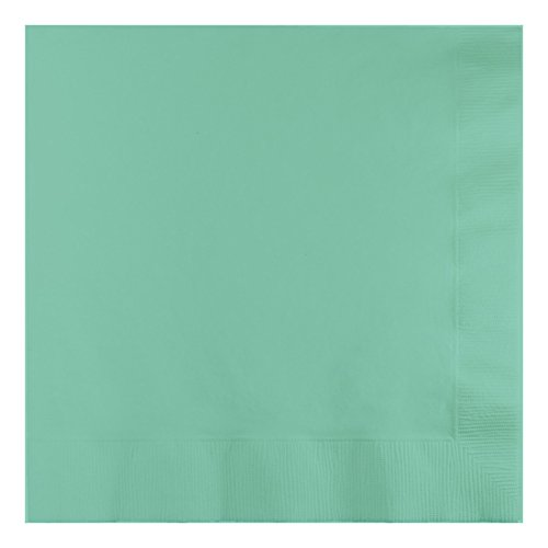 Creative Converting 318887 3-Ply Fresh Mint Lunch Napkins Serviette, Papier, grün