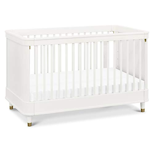 Why Should You Buy Million Dollar Baby Tanner 3-in-1 Convertible Crib in Warm White, Greenguard Gold...