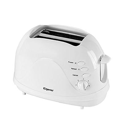 Elgento E20012 Two Slice Toaster, 700 W - White