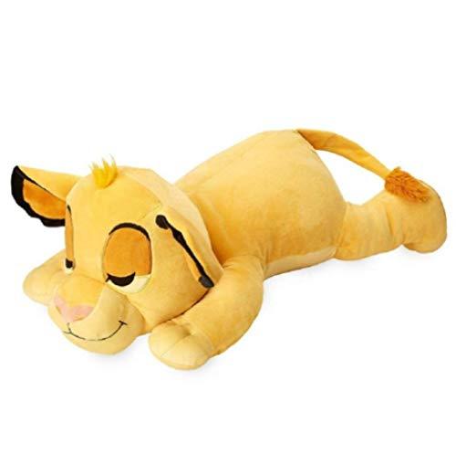nanyin Der König Der Löwen Cuddleez Liegend Schlafendes Jungtier Simba Plüschtier, Kuscheltiere Nettes Weiches Kissen 57Cm Jungen Kinderspielzeug Für Kinder