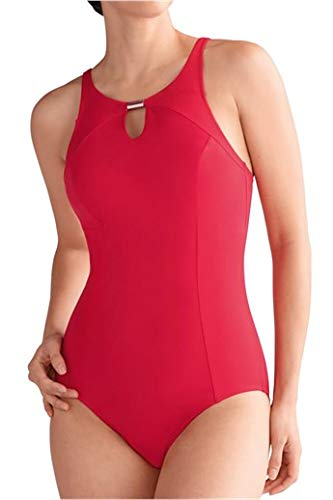 Amoena Marbella One Piece Swimsuit - Red - 22C
