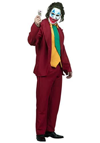 Disfraz de comediante para adultos, talla L
