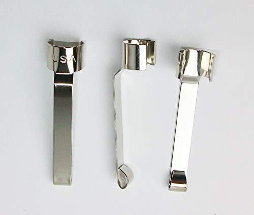 BB Spring Steel Snap-on Pen/pencil Pocket Clips (10)