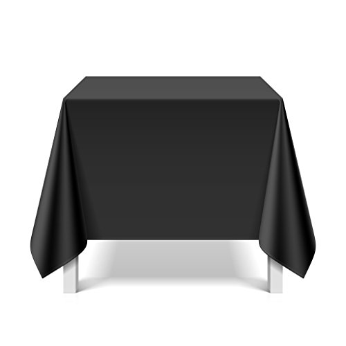 eXODA Nappe de Vinyle imperméable Waterproof Noir 200 x 230cm
