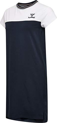hummel Damen HMLALICE Dress S/S Anzug, Schwarz Iris, XS