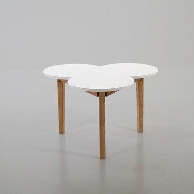 ABC Home Table Basse de Style scandinave Multicolore