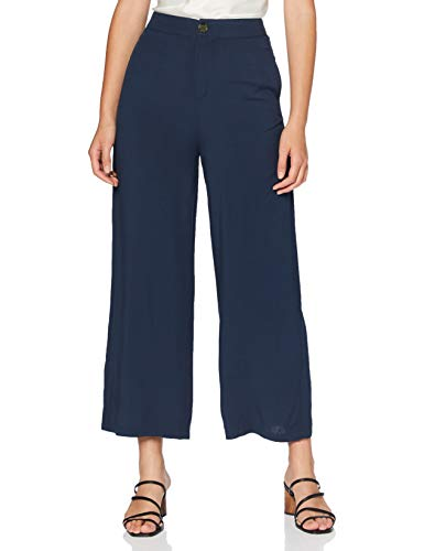 Springfield Culotte Especial Fq-c/17 Pantalones, Azul (Light_Blue 17), 34 (Tamaño del Fabricante: 34) para Mujer