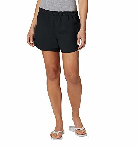 Columbia Women's Tamiami Pull-On Short, UV Protection, Moisture-Wicking,Black,Medium