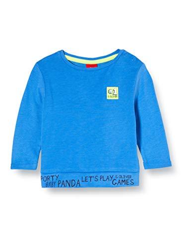 s.Oliver Junior 405.10.002.12.130.2022016 T-Shirt, Baby - Jungen, Blau 92 EU