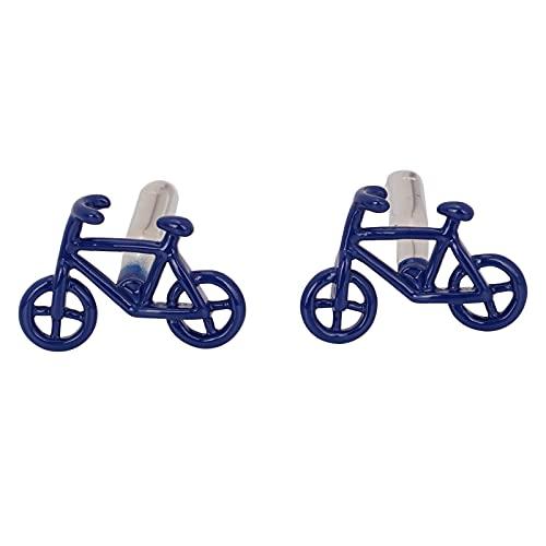FLYAMAPIRIT Manschettenknöpfe Sets für Männer Roman Fahrrad Auto Manschettenknöpfe mit Präsentation Geschenkbox Schmuck Zubehör Geschenk