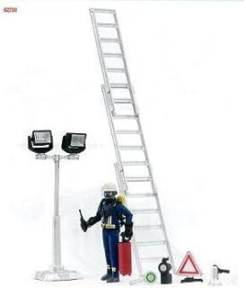 Bruder 62700 bworld Fireman Figure Set with Accessories