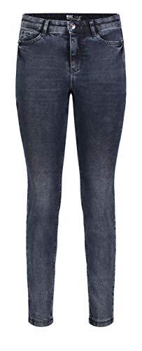 MAC Jeans Damen Skinny Jeans, Blau (Dark Blue Blk Random Wash D890), W40/L32