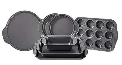 Frigidaire 11FFBAKE01 ReadyBakeware Bakeware, 7 piece, Silver, 7 Pieces