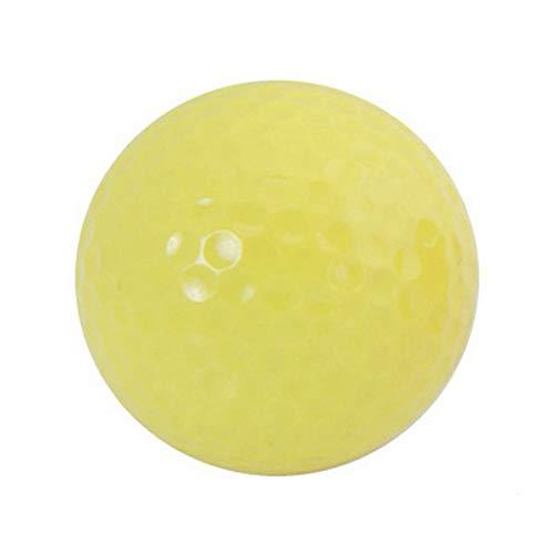 BigBuy Outdoor Golfball (Durchmesser 4,2 cm) 144410 S1405256, Erwachsene, Unisex, Gelb, Einheitsgröße