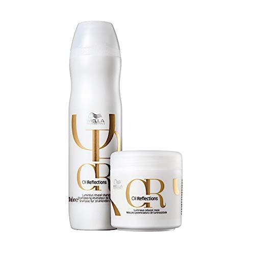 Kit Wella Professionals Oil Reflections (Shampoo e Máscara)