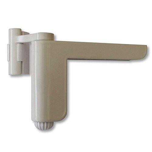 Mini-Türschließer weiß Aufsteck Türschließer Mini-Türschließer Zimmertürschließer