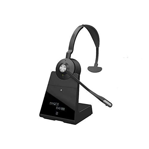 Premium Monaural Wireless Noise Cancelling Headset for PC | Desk Phone | Mobile | Compatible With Microsoft Surface