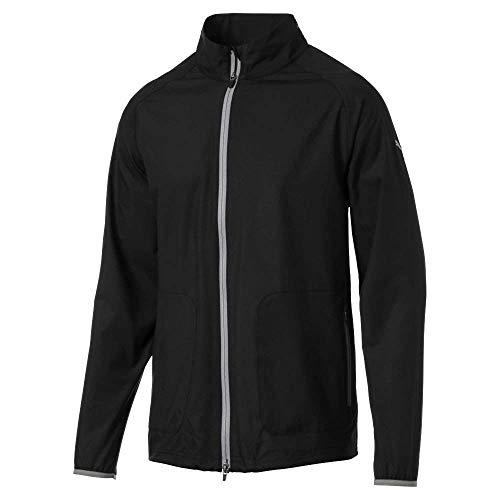 Puma Golf Men's 2019 Zephyr Jacket, Puma Black, x Large