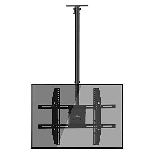 Soporte de techo para TV de 22 – 75 pulgadas con LED, LCD al plasma, VESA 600 x 400 mm, hasta 50 kg