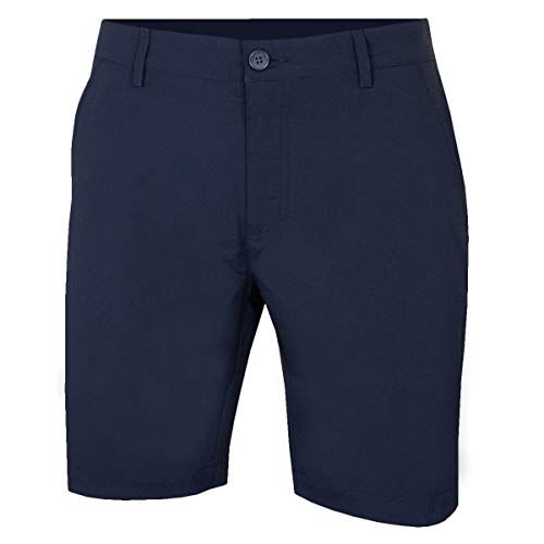 Calvin Klein Shorts Hommes Slim Fit Micro Tech - Marine - 38