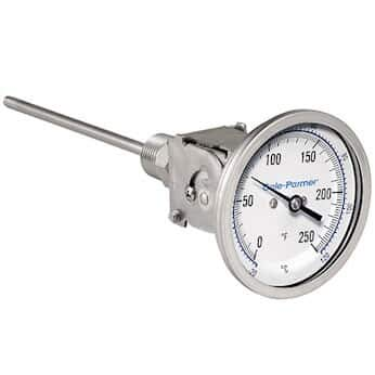 """Cole-Parmer Industrial Low price Limited Special Price Bimetal Thermometer Dial Adjust 3"""""""