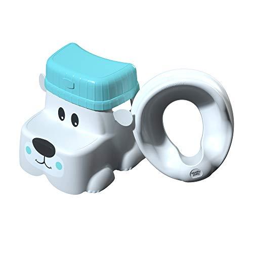 Squatty Potty Kids Pet Toilet Stool Kit Cub Base with Hat and Seat, 2.5 Pound