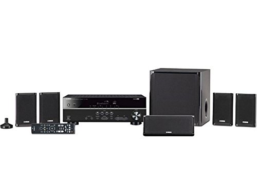 Yamaha YHT-4930UBL 5.1-Channel Home Theater in a Box System with Bluetooth