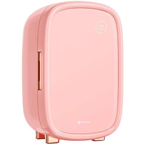 Knikker® Skincare Beauty Fridge - Make up Réfrigérateur - Frigo Cosmetique et Maquillage - 12L - Rose