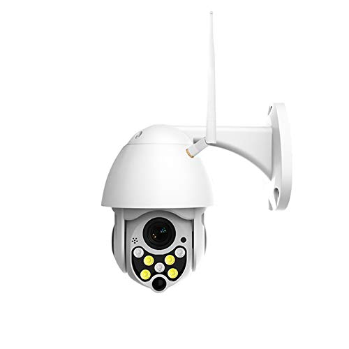 N \ A Cámara de Seguridad inalámbrica para Exteriores, cámara HD 1080P con detección de Movimiento, visión Nocturna, Resistente al Agua, Audio bidireccional, cámaras para Seguridad en el hogar