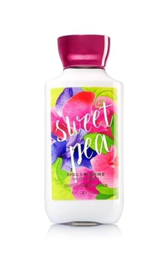 大邸宅融合蒸気【Bath&Body Works/バス&ボディワークス】 ボディローション スイートピー Body Lotion Sweet Pea 8 fl oz / 236 mL [並行輸入品]