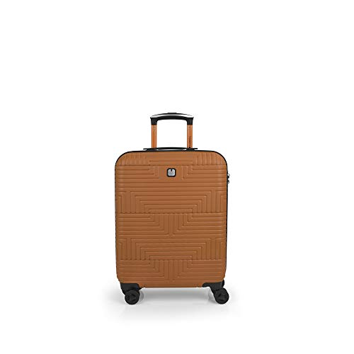 Gabol Shock | Hard Cabin Suitcase 40 x 55 x 20 cm with Capacity for 37 L Orange