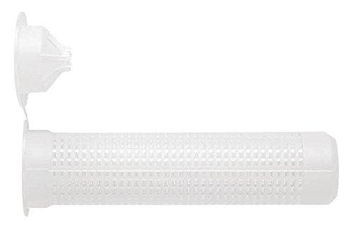 INDEX Fixing Systems MOTN20085 [MO-TN] Accesorios para cartuchos de mortero. Tamices de nylon (20 x 85), 20 x 85 mm, Set de 12 Piezas