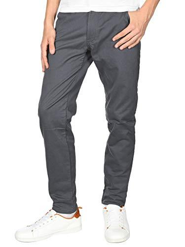 BEZLIT Jungen Thermo Chino Jeans Hose Gefüttert 22879 Grau 140