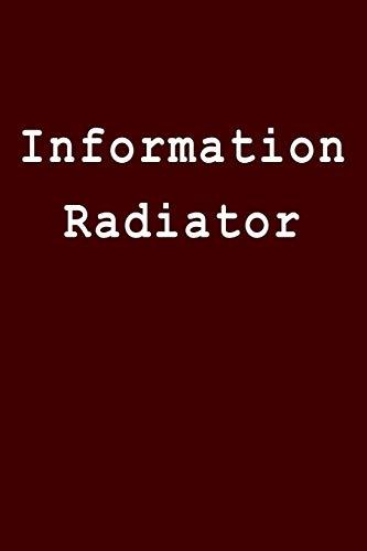 Information Radiator: Blank Lined Journal