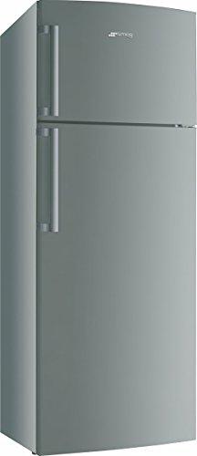Smeg FD43PX Libera installazione 423L A+ Acciaio inossidabile frigorifero con congelatore
